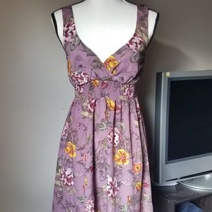5 for 30! H&M Purple Floral Sundress
